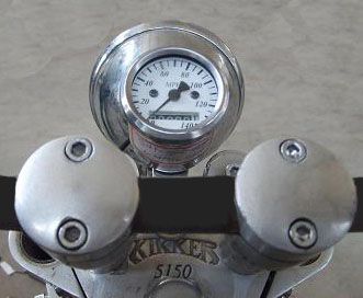 Welcome To the Kikker Hardknock Bobber Motorcycle By MOJO